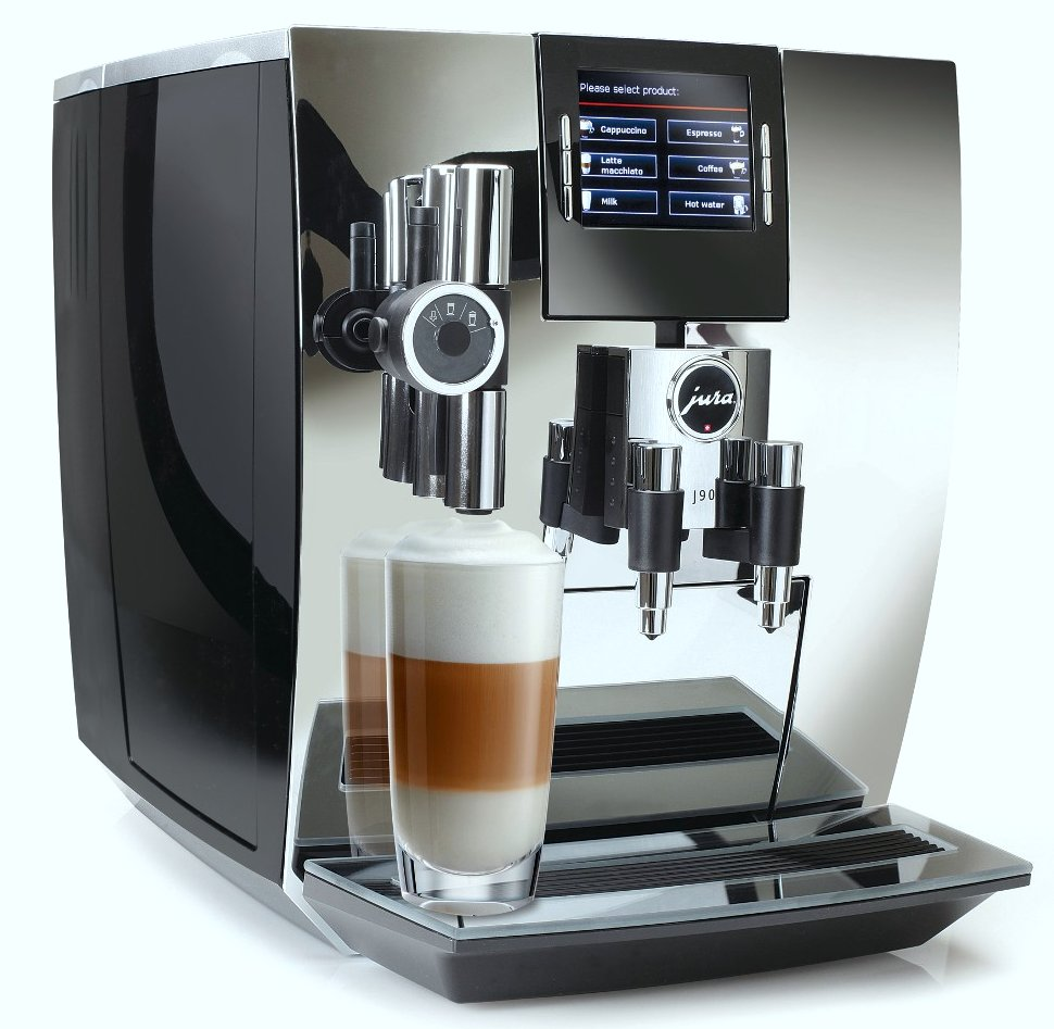 Jura Impressa J90 Chrome TFT One-Touch Super Automatic Espresso Machine!