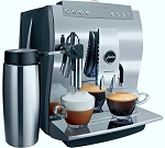 Jura Impressa Z6 Chrome One-Touch Superautomatic Espresso Machine!