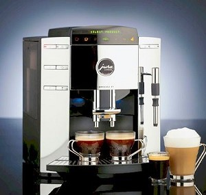 Jura Impressa F9 Chrome Superautomatic Espresso Machine!