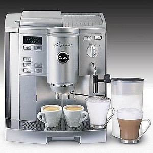 Jura Capresso C3000 Superautomatic Espresso Machine with AutoFrother!