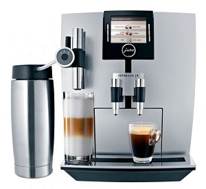 Jura Impressa J9 TFT One-Touch Superautomatic Espresso Machine!
